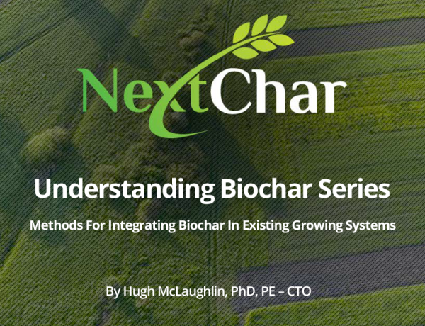 Methods for integrating Biochar in existing growing systems